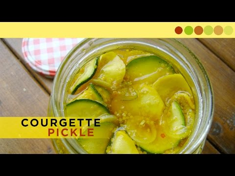 Courgette Pickle | Sweet & Sour | Chef Atul Kochhar