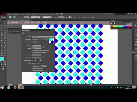 Adobe Illustrator CS6 TUTORIAL - Novità, Creazione Pattern e Stili Grafica - ITALIANO