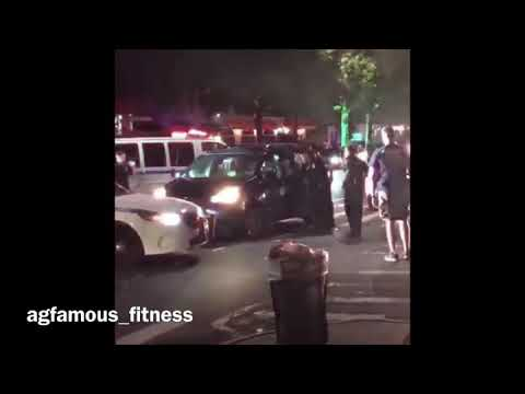 NYPD chases van who fled traffic stop