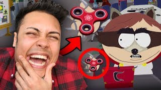 FIDGET SPINNERS ARE IN THE GAME !!! (South Park The Fractured But Whole)