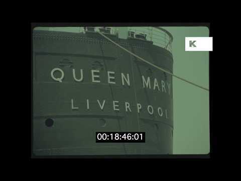 1977 Hyatt Hotel Queen Mary, Los Angeles in HD from 35mm | Kinolibrary