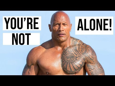 Dwayne 'The Rock' Johnson Reveals His Battle With Depression