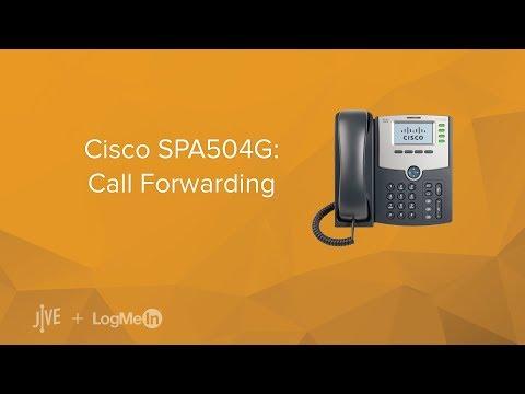 Cisco SPA504G: Call Forwarding