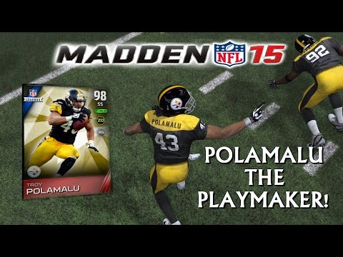 Madden 15 Ultimate Team | TROY POLAMALU THE PLAYMAKER! | STEAGLES Episode 2 | MUT 15