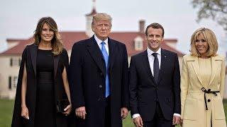 Macron to use visit to press Trump on Syria, Iran deal, trade