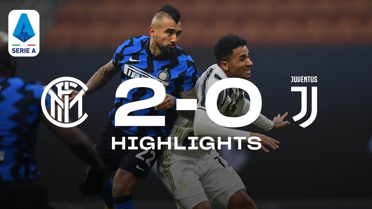 INTER 2-0 JUVENTUS   HIGHLIGHTS   SERIE A 20/21   A dominant display at San Siro! 🔥⚫🔵