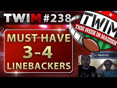 MUT Reviews | Best 3-4 Linebackers | Madden 18 Tips