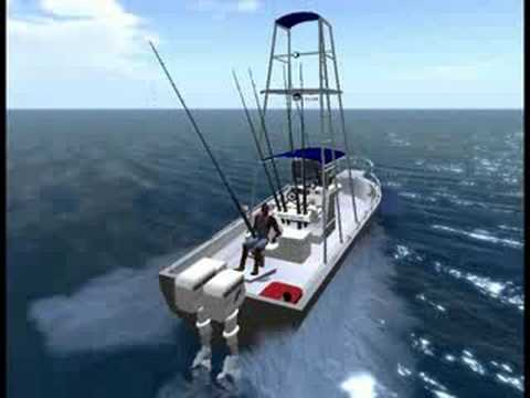 Boat Fishing in Second Life