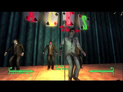 Fallout New Vegas Tops Act - The Rad Pack Song and Dance Revue