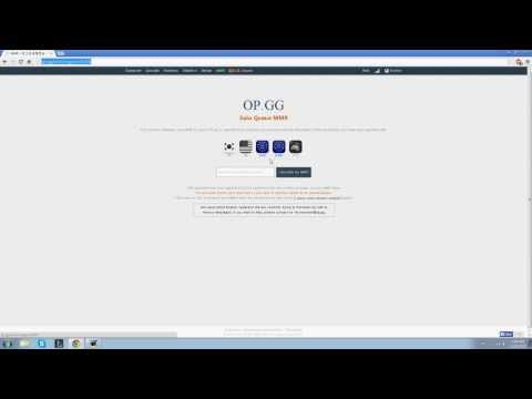 League Of Legends - How To Check Solo Queue MMR (EASY) HD