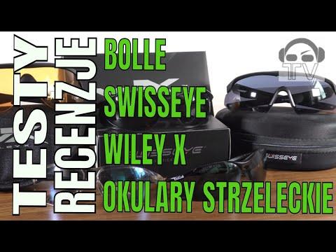 Okulary strzeleckie - Bolle, SwissEye, Wiley X