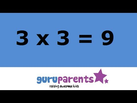 Times tables song 3