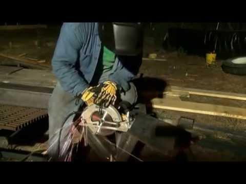 Skill saw cuts 3/8