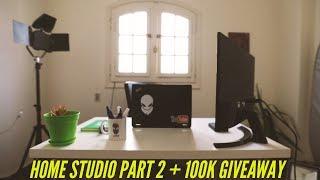 #x202b;ستوديو منزلي الجزء الثاني   100k Giveaway#x202c;lrm;