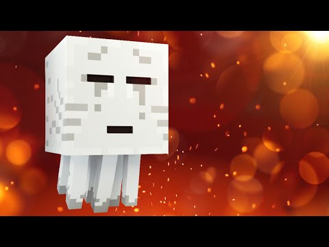 Everything You Need To Know About GHASTS In Minecraft!