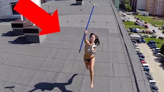 20 WEIRD THINGS CAUGHT ON CAMERA BY DRONES