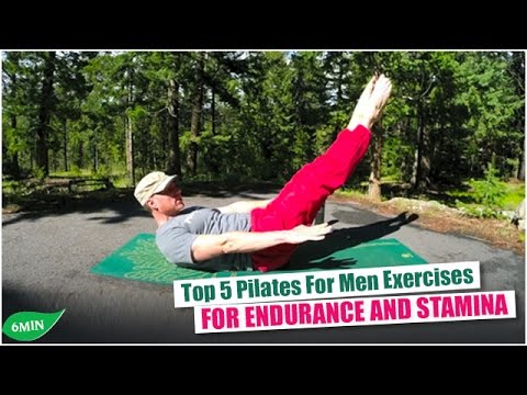 Top 5 Pilates Exercises for Men for Endurance & Stamina with Sean Vigue