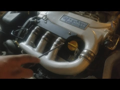 2005 Saturn L300 coil pack and spark plug replacement
