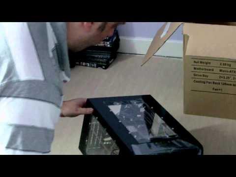 E-CUTE Micro ATX PC Case - SYNTHEMATIX