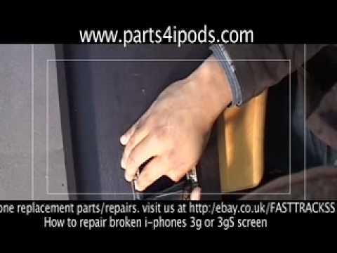 iPhone 3G 3GS Cracked glass screen Repair