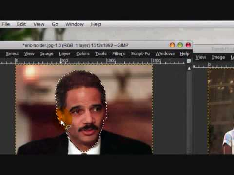 How to Replace Someone's Face with Someone Else's in Gimp