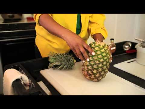 How to Juice Pineapple Skin