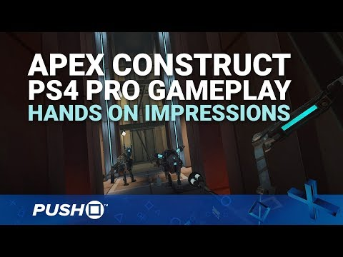 Apex Construct PS4 Pro Gameplay: PSVR Sci-Fi Adventure | PlayStation VR | Hands On Impressions