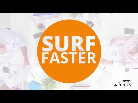 ARRIS SURFboard SBG6580 Wi-Fi Cable Modem