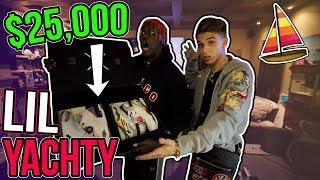 I Gave Rapper Lil Yachty $25,000 Air Jordans