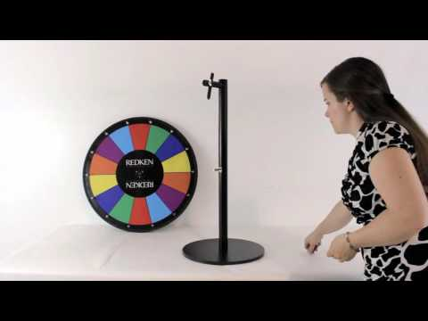 SpinningDesigns- Easy assemble Prize Wheel Stand