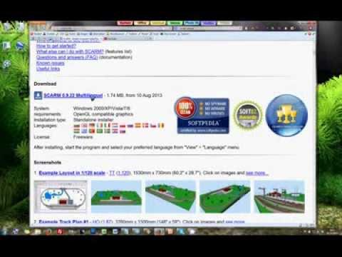 SCARM Tutorial 01: Create a Model Railway Layout - Model Railway Editor