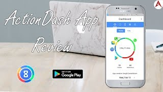 ActionDash: Digital Wellbeing & Screen Time helper app review Urdu / Hindi