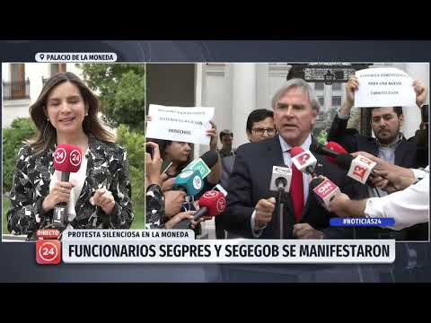Xxx Mp4 Funcionarios Del Segpres Y Segegob Se Manifestaron En Medio De Declaraciones De Iván Moreira 3gp Sex