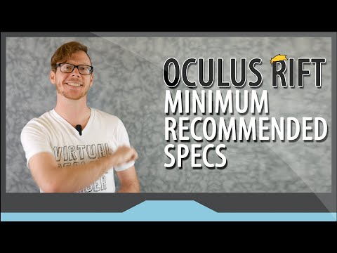 Oculus Rift Recommended Specs and Computer Requirements