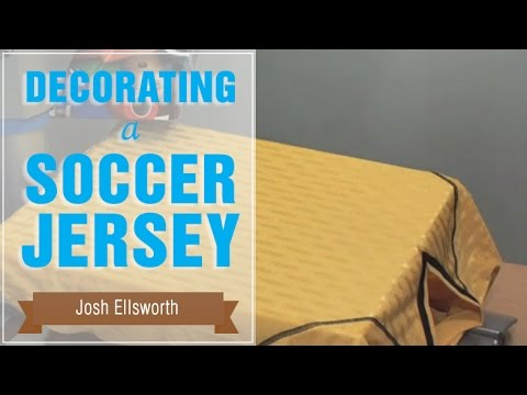 How to Heat Press a Soccer Jersey