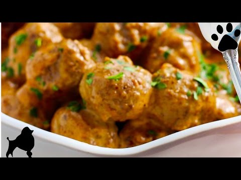 XMAS TURKEY MEATBALLS DOG DINNER REMIX DIY Dog Food by Cooking For Dogs