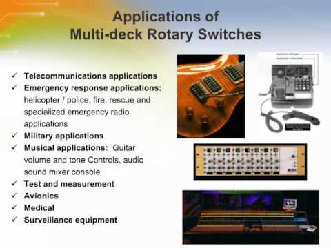 Rotary and Key Lock Switches