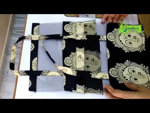 DIY Fabric Bag Making Tutorial || How To Make Beautiful Bag With Recycled Cloth