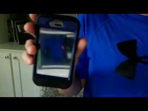 how to remove an otter box case off and iphone 4 or 4s