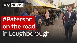 #Paterson on the road in Loughborough