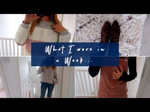 WHAT I WORE IN A WEEK (WITH SARAH FROM THIS MAMA LIFE)