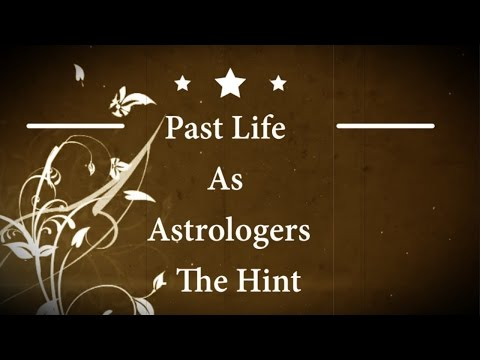 Hint Of Past Life Astrology by Visti Larsen