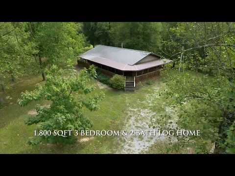 Secluded and Quiet Home on 45 Acres for Sale in Pope County, IL