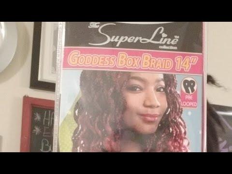 UNBOXING LIVE:  My NEW Crochet HAIR | Goddess BOX BRAIDS 14