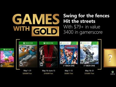 Xbox Games with Gold for May 2018 - Good Lineup or another Mediocre List?
