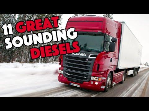11 Great Sounding Diesel Engines
