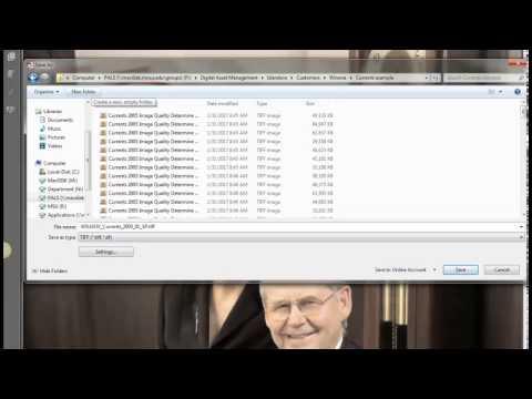 Converting PDF to TIFFs Adobe Pro