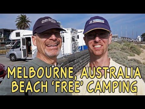 Melbourne, Australia Beachfront RV Boondocking (