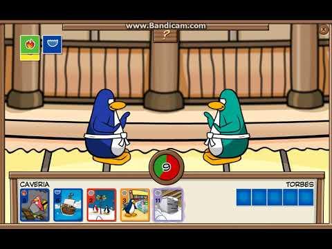 Club Penguin Rewritten Card Jitsu - Caveria vs. Torbes Part 1