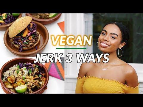 3 Vegan Jerk Recipes | Vegan Jerk Pulled Jackfruit
